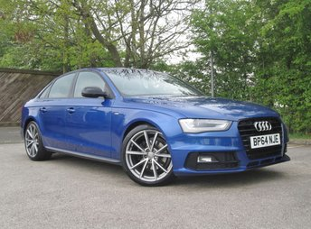 2015 AUDI A4 2.0 TDI BLACK EDITION PLUS 4d 148 BHP £13990.00