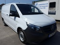 USED 2016 66 MERCEDES-BENZ VITO 111 CDI LONG, 1 OWNER, 48000 MILES [LEZ COMPLIANT]