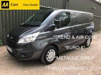 USED 2017 67 FORD TRANSIT CUSTOM 2.0 290 *TREND WITH AIR CON*EURO 6*FORD WARRANTY 2020*