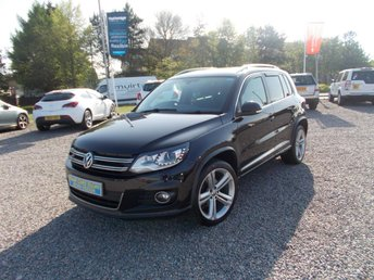 2015 VOLKSWAGEN TIGUAN 2.0 R LINE TDI BLUEMOTION TECHNOLOGY 4MOTION 5d 139 BHP £13995.00