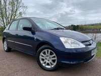 2003 HONDA CIVIC 1.6 SE EXECUTIVE 5d 109 BHP £2000.00