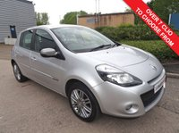 USED 2013 62 RENAULT CLIO 1.1 DYNAMIQUE TOMTOM 16V 5d 75 BHP