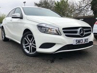 2013 MERCEDES-BENZ A CLASS 1.8 A180 CDI BLUEEFFICIENCY SPORT 5d AUTO 109 BHP