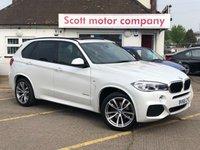 2016 BMW X5 3.0 XDRIVE30D M Sport £31999.00
