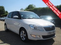 USED 2013 13 SKODA FABIA 1.2 GREENLINE TDI CR 5d 74 BHP FULL SERVICE HISTORY - SEE IMAGES