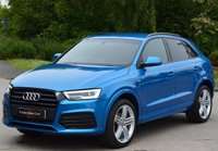 USED 2015 15 AUDI Q3 2.0 TDI QUATTRO S LINE PLUS 5d 184 BHP BLACK STYING PACK.