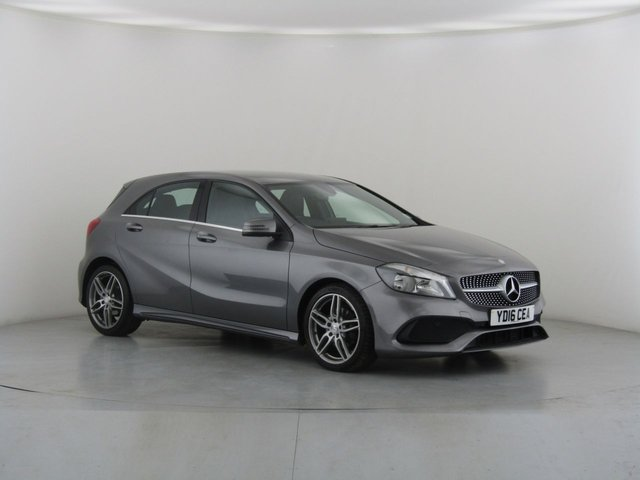 View our 2016 16 MERCEDES-BENZ A-CLASS 1.5 A 180 D AMG LINE 5d 107 BHP