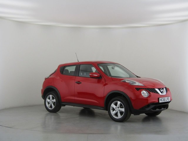 View our 2017 66 NISSAN JUKE 1.6 VISIA 5d 94 BHP