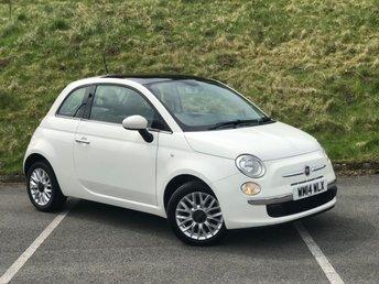 2014 FIAT 500 1.2 LOUNGE 3d 69 BHP £4290.00