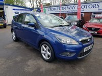 USED 2010 10 FORD FOCUS 1.6 ZETEC 5d 100 BHP 0%  FINANCE AVAILABLE ON THIS CAR PLEASE CALL 01204 393 181