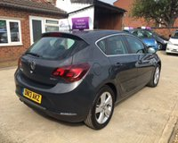 "USED 2013 13 VAUXHALL ASTRA SRI CDTI ECOFLEX S/S Mot 23rd April 2020, No Advisories - Full Service History, 7 Stamps 3 Months Warranty Included - Cruise Control - 17"" Alloy Wheels - Speed Limiter - Electric Windows - Aux"