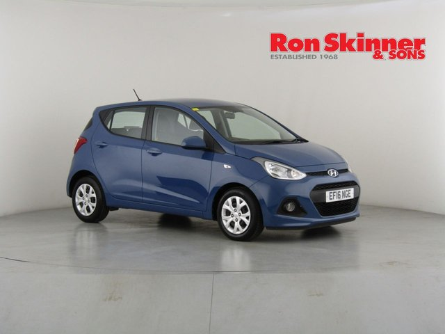View our 2016 16 HYUNDAI I10 1.2 SE 5d 86 BHP