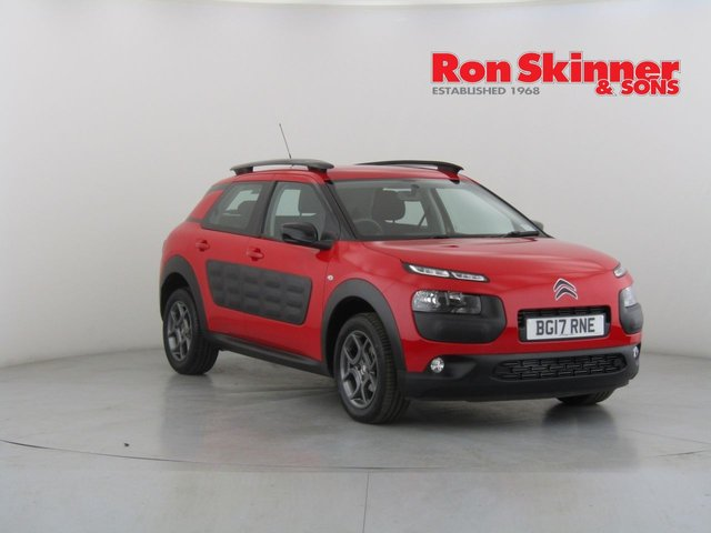 View our 2017 17 CITROEN C4 CACTUS 1.2 PURETECH FEEL 5d 80 BHP