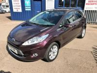 USED 2009 59 FORD FIESTA 1.4 Zetec 1 OWNER-FULL DEALER HISTORY. LOW MILEAGE-BLUETOOTH