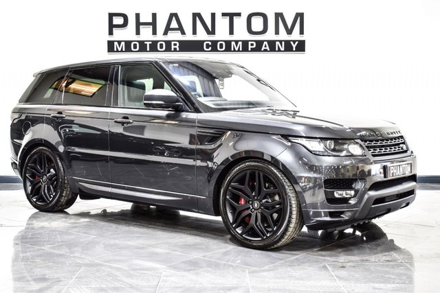 USED 2016 16 LAND ROVER RANGE ROVER SPORT 3.0 SDV6 AUTOBIOGRAPHY DYNAMIC 5d AUTO 306 BHP