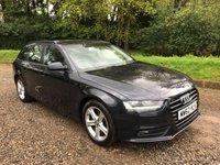 2013 AUDI A4 1.8 AVANT TFSI SE 5d AUTO 168 BHP £9475.00