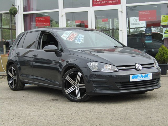 2014 14 VOLKSWAGEN GOLF 1.6 BLUEMOTION TDI 5d 108 BHP
