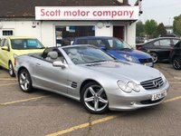 2003 MERCEDES-BENZ SL 3.7 SL350 Automatic £5699.00