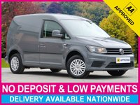 USED 2016 16 VOLKSWAGEN CADDY 2.0 TDI TRENDLINE C20 PLUS PANEL VAN SATELLITE NAVIGATION CRUISE PLY-LINED AIR CONDITIONING
