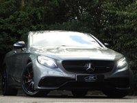 USED 2015 15 MERCEDES-BENZ S CLASS 5.5 S63 AMG 2d AUTO 577 BHP HUGE SPEC ONLY 27K FMBSH NAV