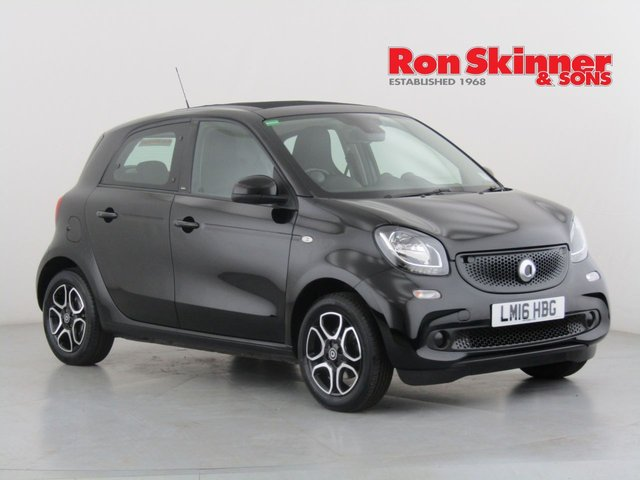 View our 2016 16 SMART FORFOUR 1.0 NIGHT SKY PRIME 5d 71 BHP