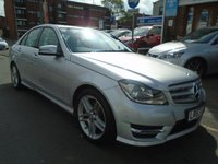 USED 2013 63 MERCEDES-BENZ C CLASS 2.1 C250 CDI BLUEEFFICIENCY AMG SPORT 4d AUTO 202 BHP SAT NAV