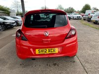 USED 2012 12 VAUXHALL CORSA 1.2 LIMITED EDITION 3d 83 BHP