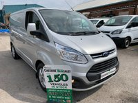 2015 FORD TRANSIT CUSTOM 2.2 290 LIMITED 125BHP 1 OWNER FROM NEW FULL SERVICE HISTORY  £9495.00