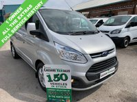 USED 2015 15 FORD TRANSIT CUSTOM 2.2 290 LIMITED 125BHP 1 OWNER FROM NEW FULL SERVICE HISTORY  1 OWNER, FULL SERVICE HISTORY, 6 MONTHS RAC WARRANTY