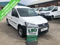 USED 2013 13 VOLKSWAGEN CADDY 1.6 C20 TDI STARTLINE 102 BHP 1 OWNER FULL SERVICE HISTORY AIR CON