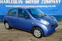 USED 2004 04 NISSAN MICRA 1.2 S 5d 80 BHP