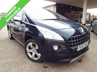 USED 2010 60 PEUGEOT 3008 2.0 HDI EXCLUSIVE 5d 150 BHP