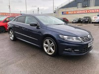 USED 2014 64 VOLKSWAGEN CC 2.0 R LINE TDI DSG BLUEMOTION TECHNOLOGY 4d AUTO 175 BHP GOT A POOR CREDIT HISTORY * DON'T WORRY * WE CAN HELP * APPLY NOW *