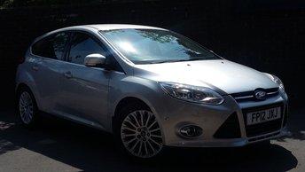 2012 FORD FOCUS 1.0 TITANIUM X 5d 124 BHP £6989.00