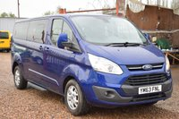 USED 2014 63 FORD TOURNEO CUSTOM 2.2 300 LIMITED TDCI 5d 124 BHP