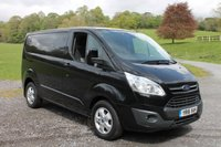 2016 FORD TRANSIT CUSTOM 2.2 270 LIMITED LR P/V 1d 124 BHP £12000.00
