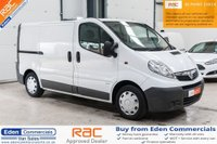 USED 2011 61 VAUXHALL VIVARO 2.0 2900 CDTI * EX SCOTTISH POWER * INTERNAL RACKING