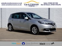 USED 2015 15 RENAULT SCENIC 1.5 DYNAMIQUE TOMTOM DCI EDC 5d AUTO 110 BHP One Owner Renault History NAV Buy Now, Pay Later Finance!