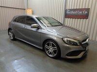 2016 MERCEDES-BENZ A CLASS 1.6 A 180 AMG LINE PREMIUM 5d AUTO 121 BHP £16995.00