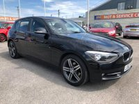 USED 2013 62 BMW 1 SERIES 2.0 116D SPORT 5d 114 BHP GOT A POOR CREDIT HISTORY * DON'T WORRY * WE CAN HELP * APPLY NOW *