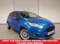 USED 2013 13 FORD FIESTA 1.0 TITANIUM with electric folding mirrors and  front/rear parking