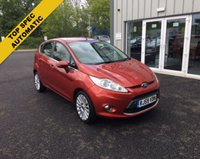 USED 2009 59 FORD FIESTA 1.4 TITANIUM AUTOMATIC THIS VEHICLE IS AT SITE 1 - TO VIEW CALL US ON 01903 892224