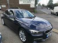 2014 BMW 3 SERIES 2.0 320D LUXURY 4d AUTO 184 BHP £11495.00