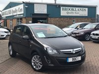 2014 VAUXHALL CORSA 1.2 SE 5d 83 BHP Asteriod Grey Only Done 15,762 Miles Full Service History  £5995.00