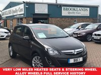 USED 2014 14 VAUXHALL CORSA 1.2 SE 5d 83 BHP Asteriod Grey Only Done 15,762 Miles Full Service History  Very Low Miles Heated Seats Heated Steering Wheel Alloy Wheels Full Service History 01536 402161