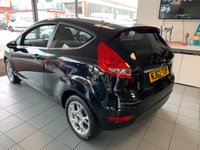 USED 2012 62 FORD FIESTA 1.2 ZETEC 3d 81 BHP **EXTREMELY LOW MILES**