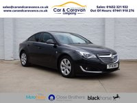 USED 2014 14 VAUXHALL INSIGNIA 2.0 SRI NAV CDTI 4d AUTO 160 BHP 1 Owner Full Vauxhall History Buy Now, Pay Later Finance!