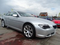 2005 BMW 6 SERIES 3.0 630I AUTO IMMACULATE CONDITION  £4595.00