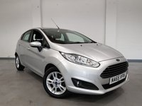 USED 2015 65 FORD FIESTA 1.25 ZETEC 5 Door with full S/history