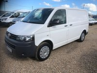 USED 2013 13 VOLKSWAGEN TRANSPORTER 2.0 T28 TDI BLUEMOTION TECHNOLOGY 1d 113 BHP AIR/CON * CRUISE CONTROL * SERVICE HISTORY *